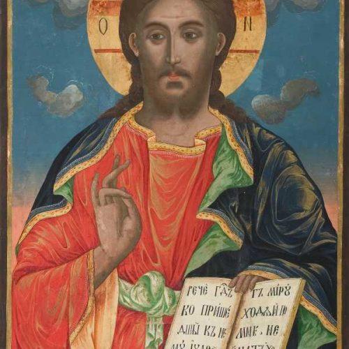 Йоаникий папа Витанов – Исус Христос Пантократор, 1836 г.