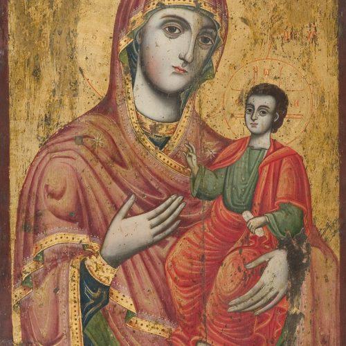 Кръстю Захариев - Света Богородица,, 1820 г.