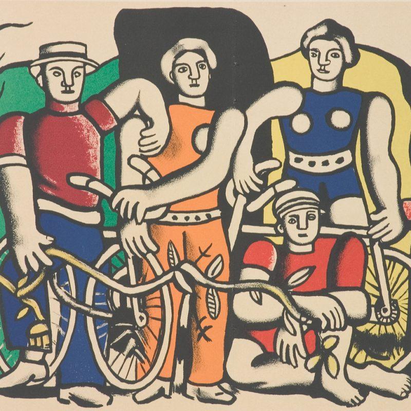 Фернан Леже - Велосипедисти