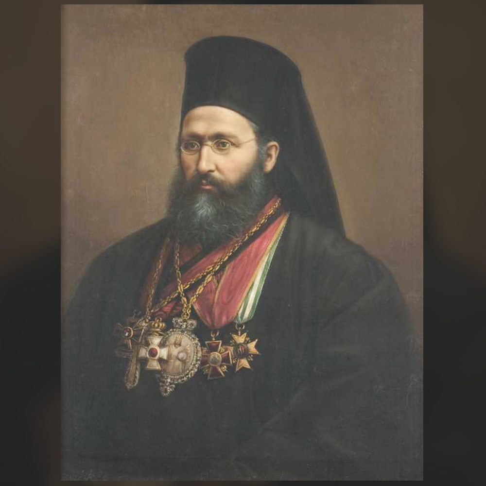 Георги Данчов – Портрет на сливенския митрополит Геврасий