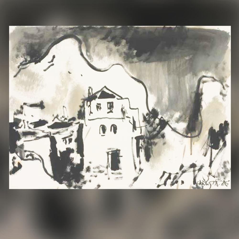 Найден Петков – Рисунка, 1986