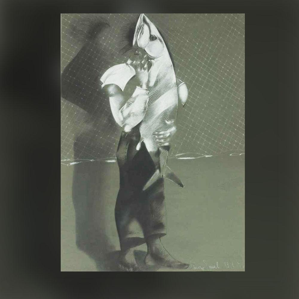 Стоян Цанев – Рисунка IV, 1980