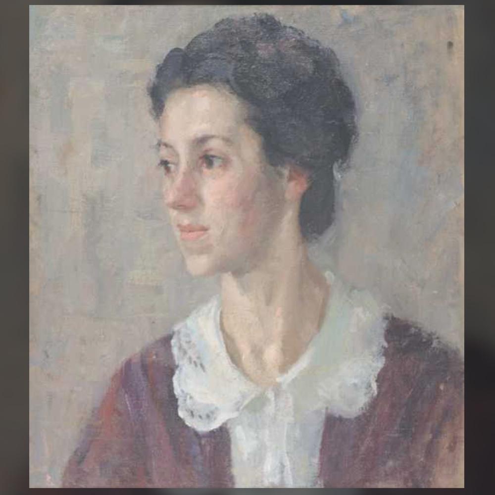 Елена Карамихайлова – Портрет на сестрата на художничката