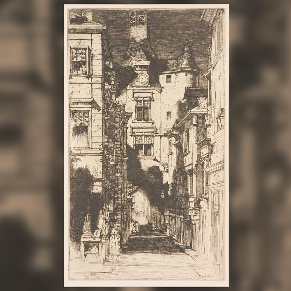 Давид Юнг Камерон - Градски пейзаж