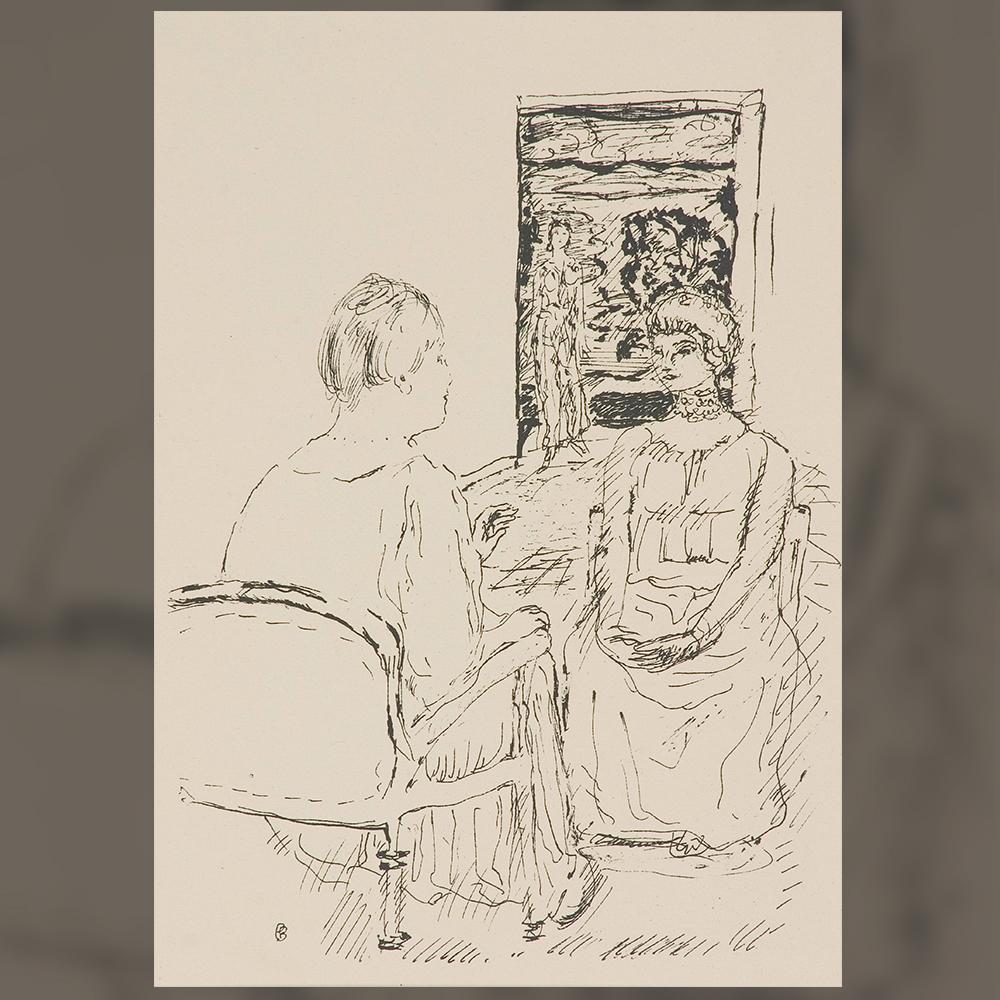 Пиер Бонар - Разговор