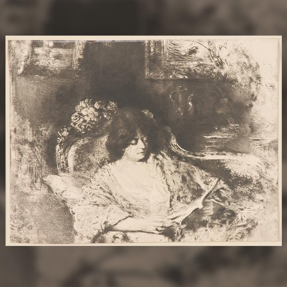 Шарл Албер Валтнер - Жена чете